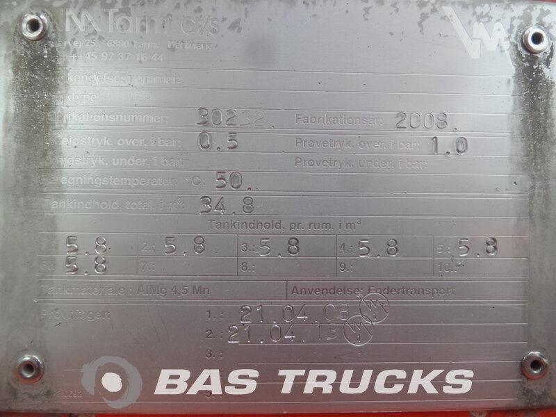 photo de Occasion  Camion + Remorque MAN TGS 26.480 LX Silo / 4 / 26.000 Ltr 6X2 2008