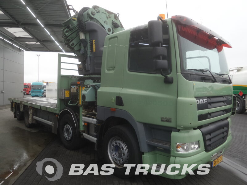 photo de Occasion  Camion DAF CF85.430 8X2 2003