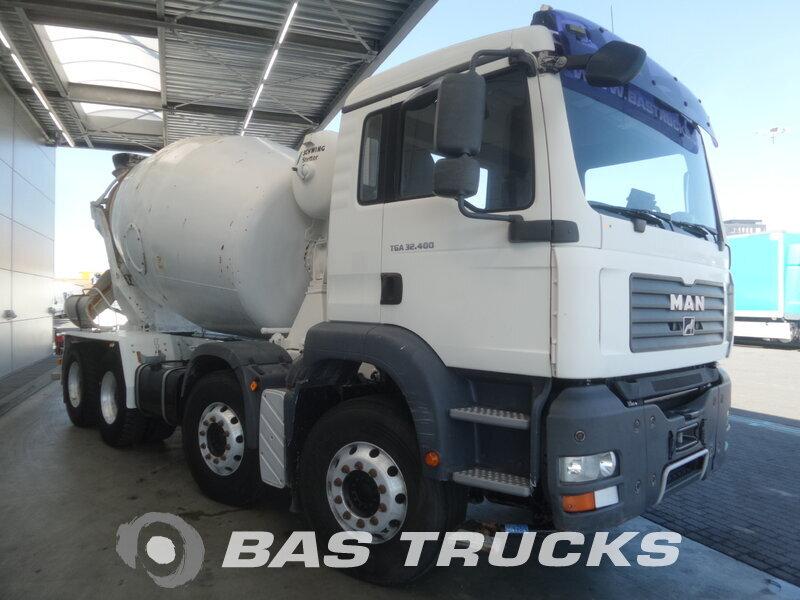 photo de Occasion  Camion MAN TGA 32.400 M 8X4 2007