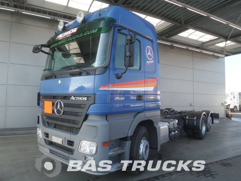 photo de Occasion  Camion Mercedes Actros 2546 L 6X2 2008