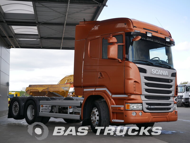 photo de Occasion  Camion Scania R480 6X2 2012