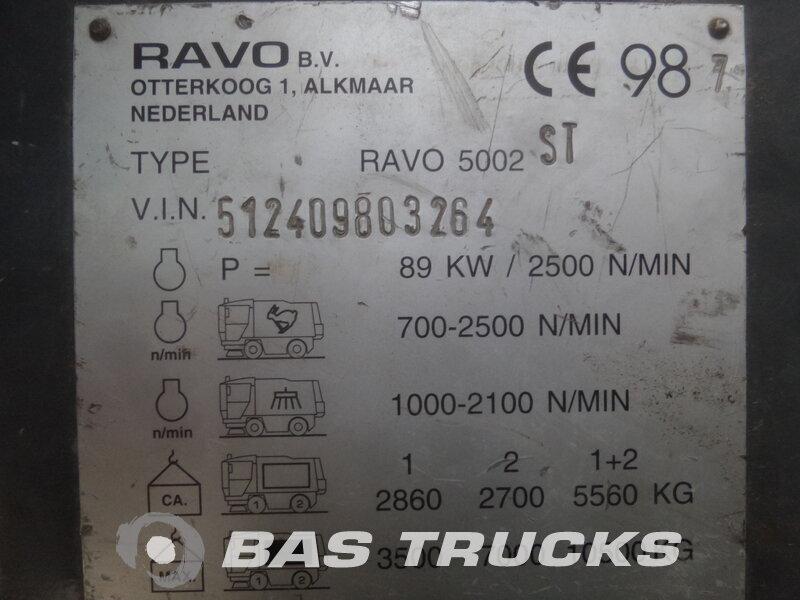 photo de Occasion  Divers Ravo Road sweeper - Veegmachine 4X2 1998
