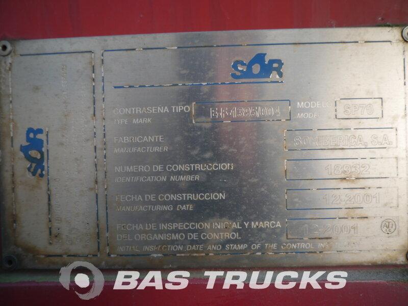 photo de Occasion  Remorque Contar A18LZL 2 Essieux 1997