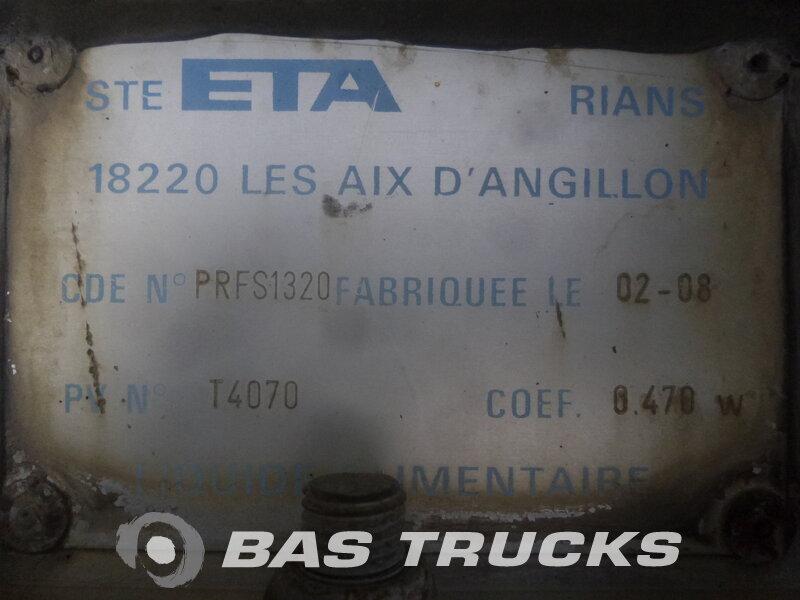 photo de Occasion  Semi-remorques ETA 25.000 Ltr / 1 / Pompe 2 Essieux 2008