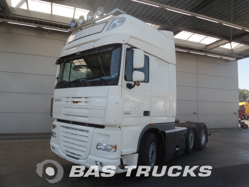 photo de Occasion  Tracteur DAF XF105.510 SSC 6X2 2010