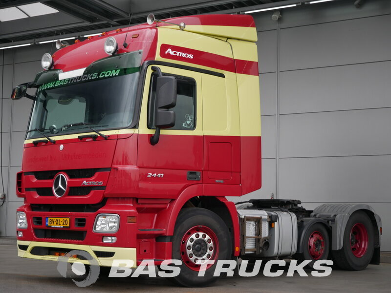 photo de Occasion  Tracteur Mercedes Actros 2441 LS 6X2 2009