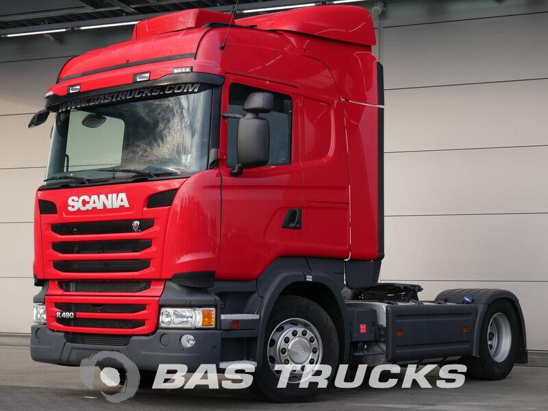 photo de Occasion  Tracteur Scania R490 4X2 2015