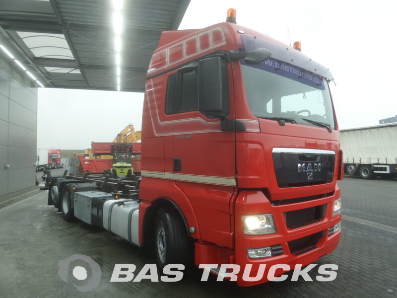 photo de Occasion Camion MAN TGX 26.480 XLX 6X2 2009
