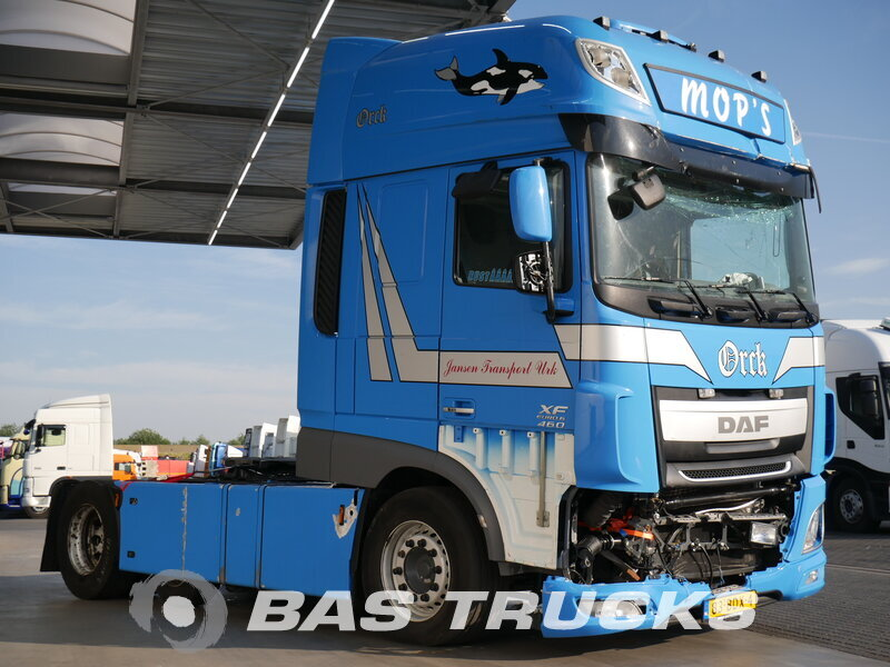 photo de Occasion Tracteur DAF XF 460 SSC Unfall 6X2 2014