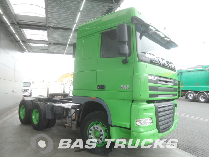 photo de Occasion Tracteur DAF XF105.460 6X4 2014
