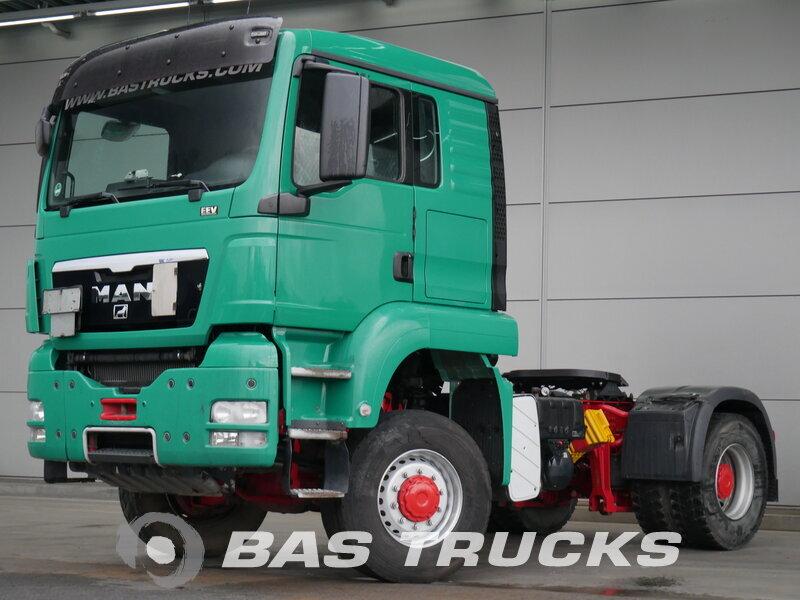 photo de Occasion Tracteur MAN TGS 18.440 L 4X4 2012