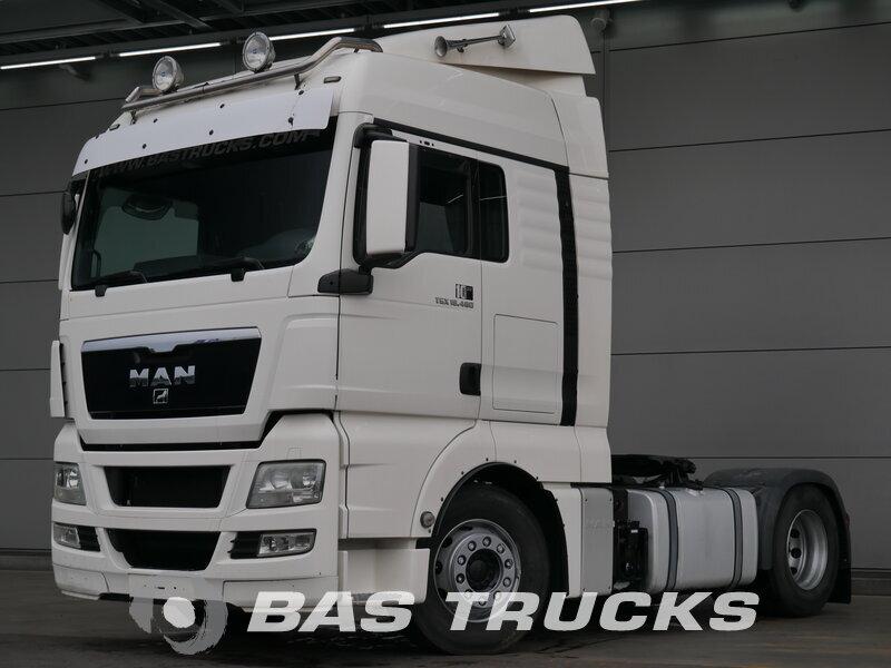 photo de Occasion Tracteur MAN TGX 18.480 XLX 4X2 2011