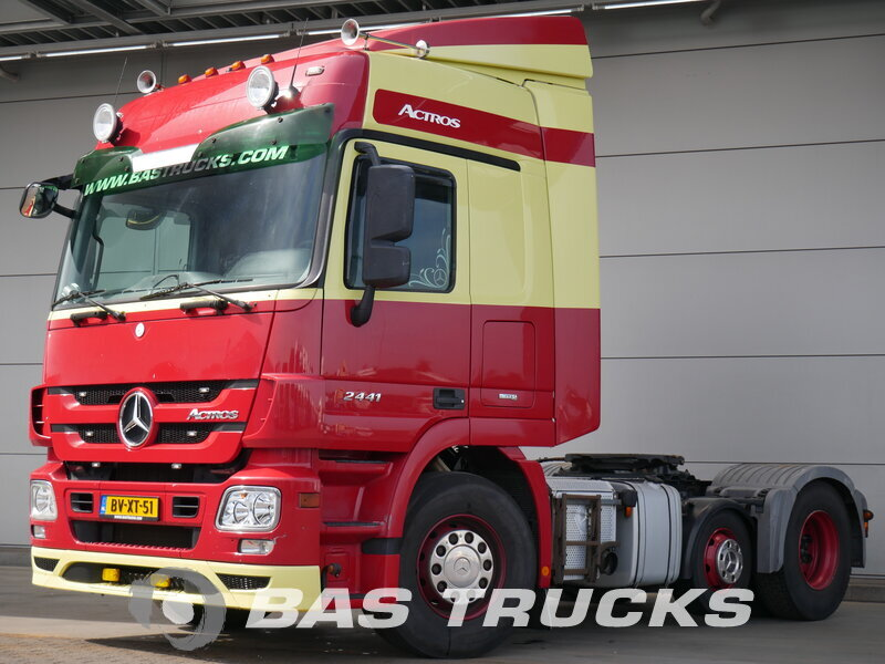 photo de Occasion Tracteur Mercedes Actros 2441 LS 6X2 2009