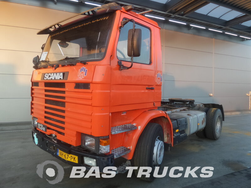 photo de Occasion Tracteur Scania R113H 380 4X2 1992