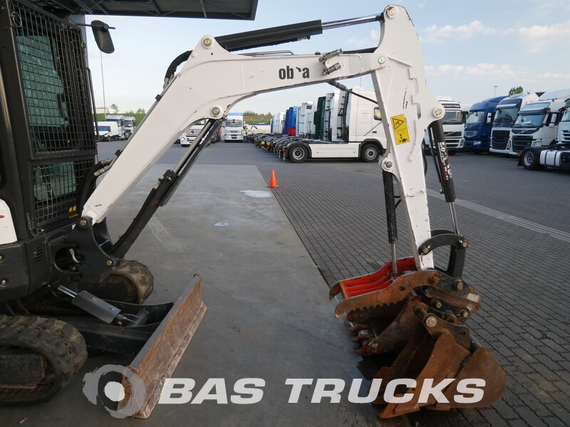 photo of Used Construction equipment Bobcat E26 Track 2015