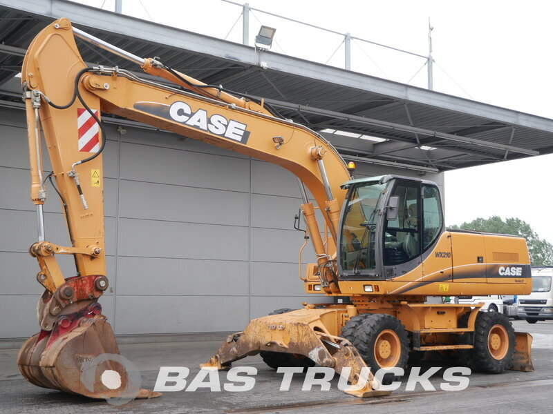 photo of Used Construction equipment Case WX210 4X4 2003