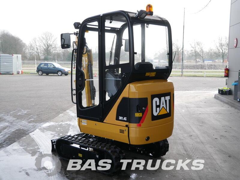 photo of Used Construction equipment Caterpillar 301.4C Track 2017