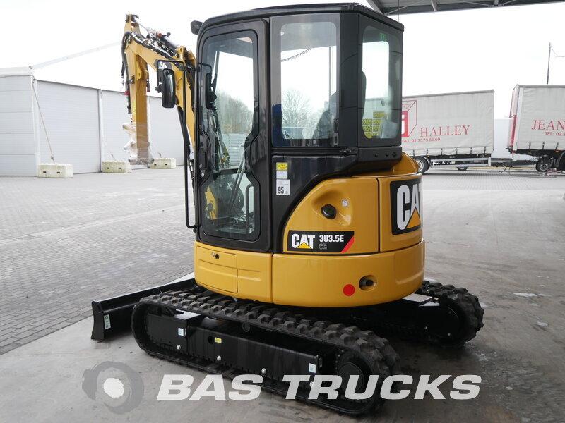 photo of Used Construction equipment Caterpillar 303.5E Track 2016