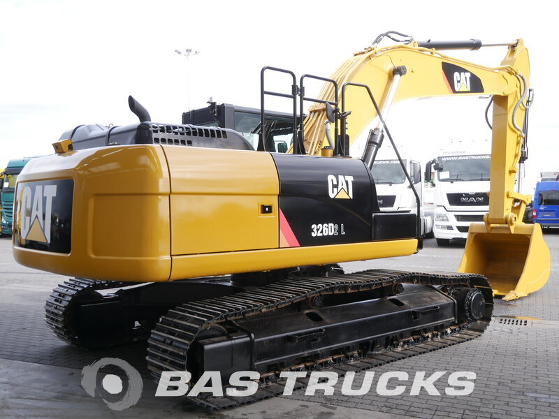 photo of Used Construction equipment Caterpillar 326D2 - 323D- 323D2 Track 2016