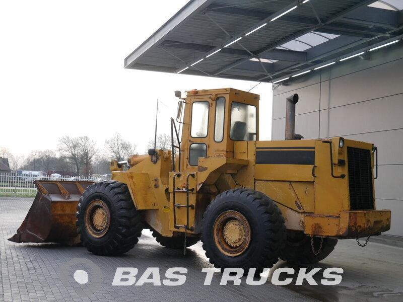 photo of Used Construction equipment Caterpillar 966E 4X4 1988