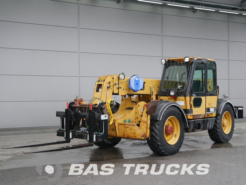 photo of Used Construction equipment Caterpillar TH 63 4X4 1998