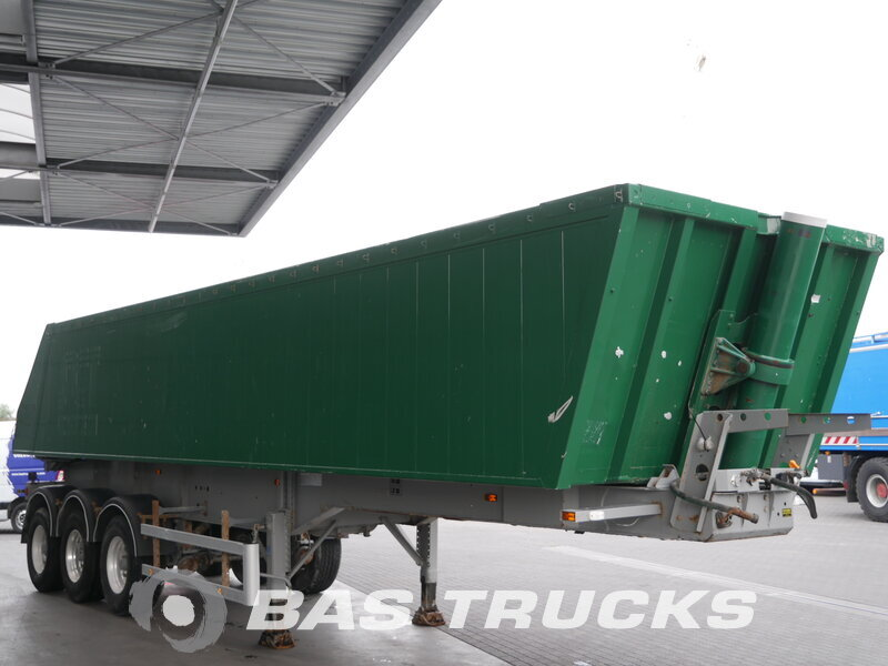 photo of Used Semi-trailer AMT 37m3 Liftachse Axels 2011