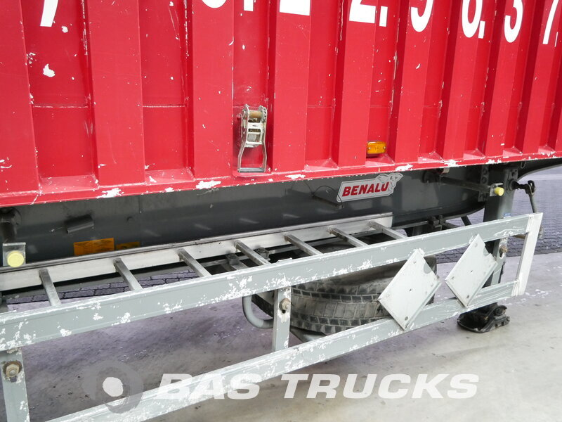 photo of Used Semi-trailer Benalu 64m3 Liftachse Alukipper Bencere Axels 2008