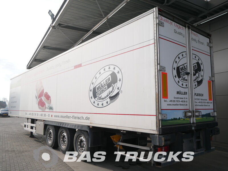 photo of Used Semi-trailer Chereau Fleisch Meat Rohrbahn TK Sl-400e Liftachse CD382HB Axels 2007