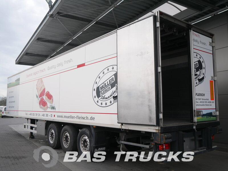 photo of Used Semi-trailer Chereau Liftachse Rohrbahn CD382HB Axels 2007