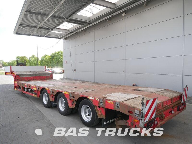 photo of Used Semi-trailer Faymonville Ausziehbar Bis: 18m10 Lenkachse STN-3AU Axels 2007
