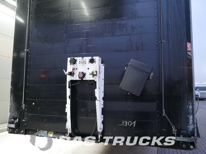 photo of Used Semi-trailer Fliegl Liftachse Mega Coil Hubdach SDS 350 Axels 2011