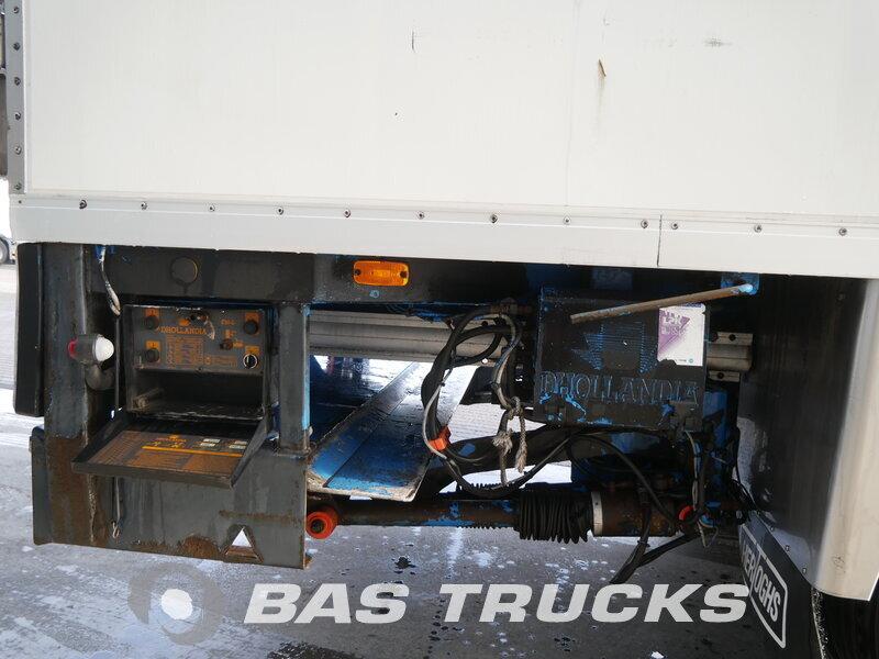 photo of Used Semi-trailer Floor Ladebordwand FLZO-12-101A Axels 1995