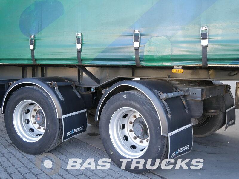 photo of Used Semi-trailer GS Meppel Lenkachse OB-120-2000 Axels 2008