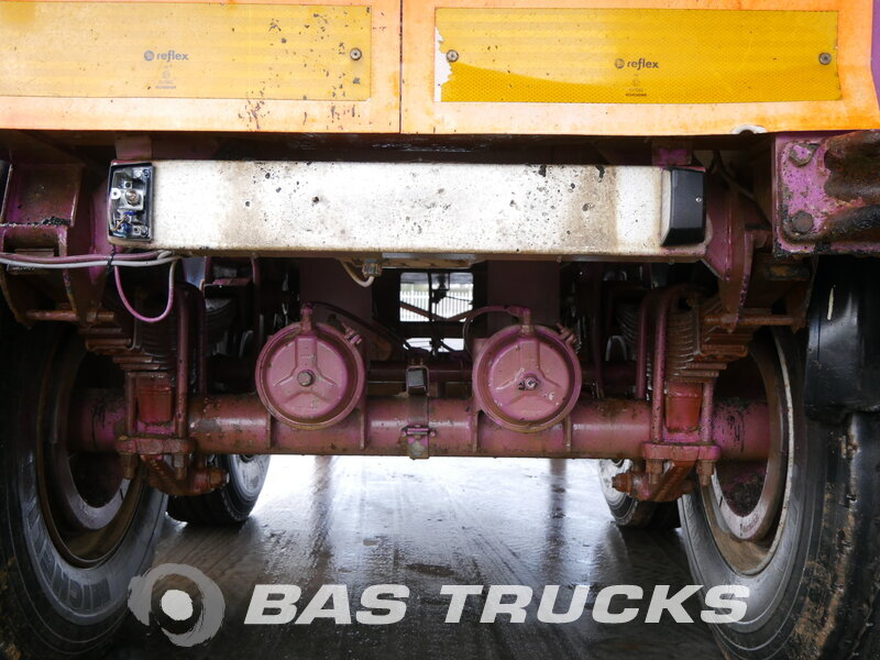 photo of Used Semi-trailer General Trailers 22m3 Steelsuspension Axels 2000