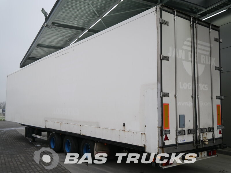 photo of Used Semi-trailer Groenewegen Mega Liftachse Axels 2007