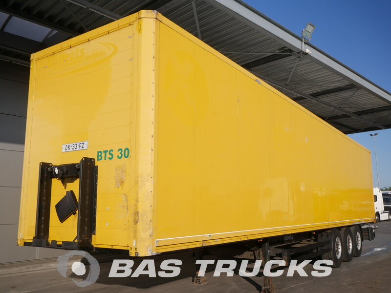 photo of Used Semi-trailer KOGEL Doppelstock Isoliert S24 3 Axels 2008