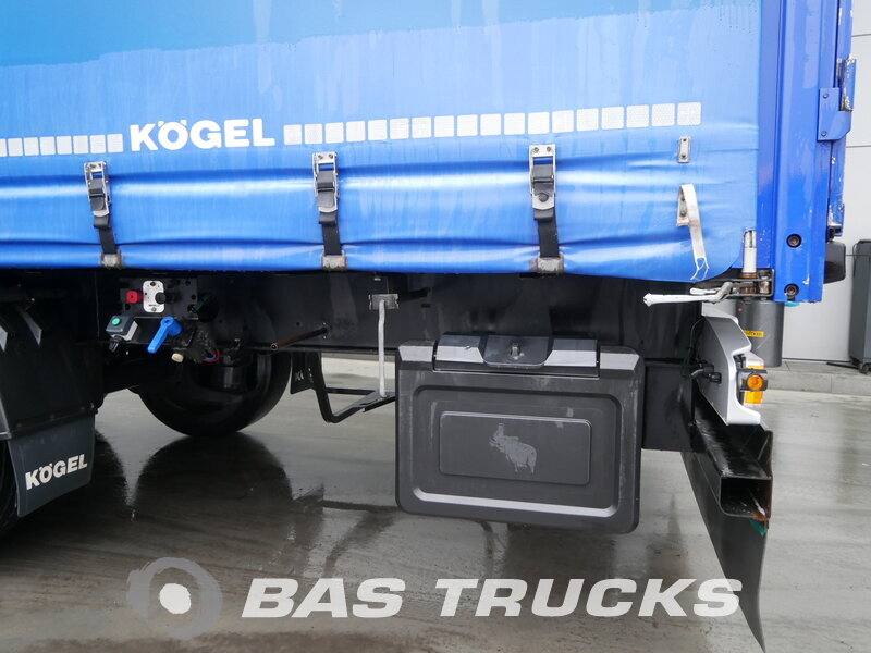 photo of Used Semi-trailer KOGEL Liftachse SN24 Axels 2012