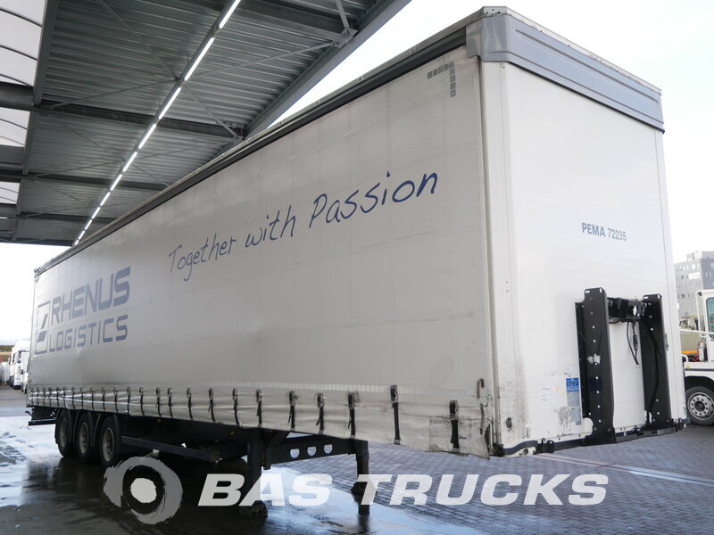 photo of Used Semi-trailer KOGEL Mega Hubdach S24 Axels 2013