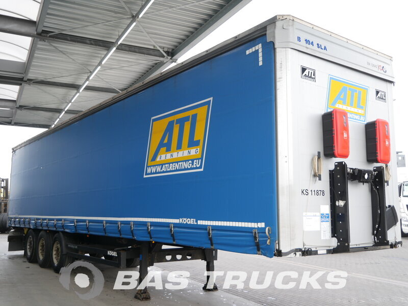 photo of Used Semi-trailer KOGEL S24-1 Axels 2014