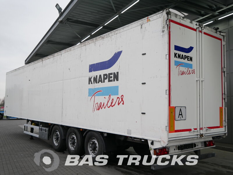 photo of Used Semi-trailer Knapen 90m3 Liftachse Cargofloor K100 3 Axels 2012