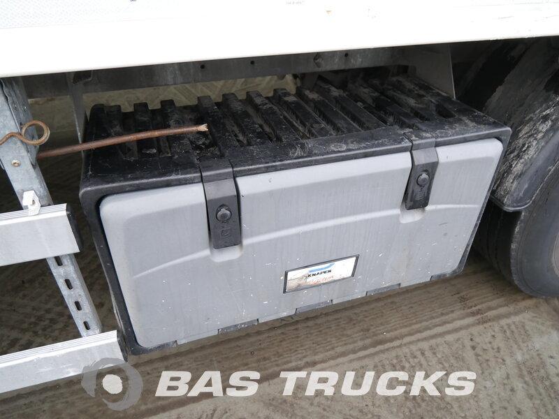 photo of Used Semi-trailer Knapen Liftachse Cargofloor 10mm Boden K100 Axels 2012