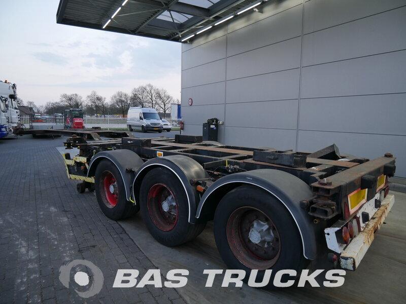 photo of Used Semi-trailer Kromhout 3 APCC-12-27 3 Axels 1996