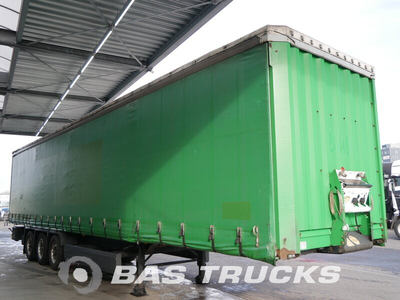 photo of Used Semi-trailer Krone Coil SD 27 Bordwände Axels 2006