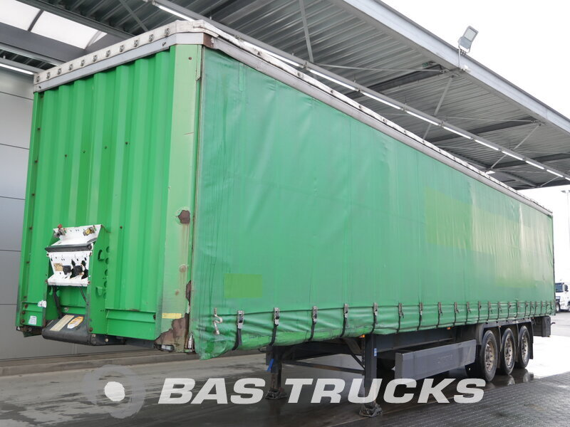 photo of Used Semi-trailer Krone Coil SD 27 Bordwände Axels 2006