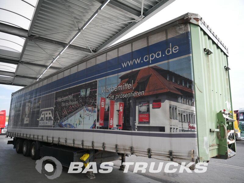 photo of Used Semi-trailer Krone Mega Hubdach Liftachse Palettenkasten SD Axels 2008