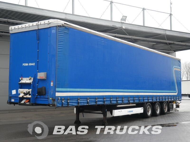 photo of Used Semi-trailer Krone Mega Hubdach Rungen Anti-Ice-Roof SD Axels 2011