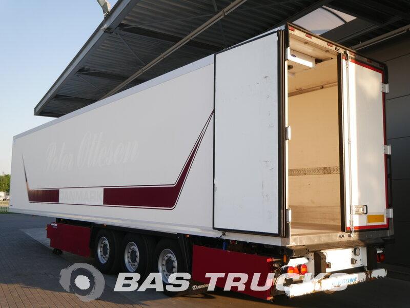 photo of Used Semi-trailer Krone Trennwand Doppelverdampfer Palettenkasten SD Axels 2012
