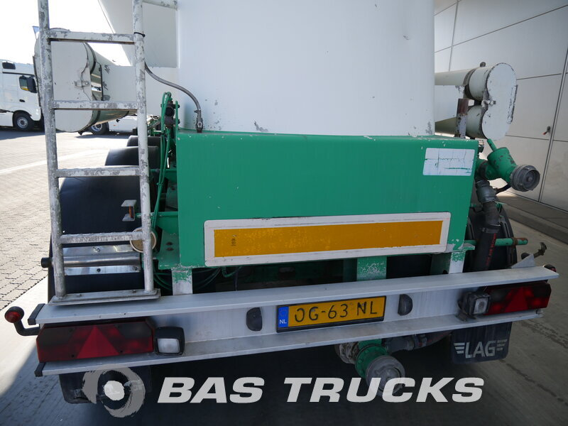 photo of Used Semi-trailer L.A.G. 38.000 Ltr / 1 / 0-3-39 CL 3 Axels 1995