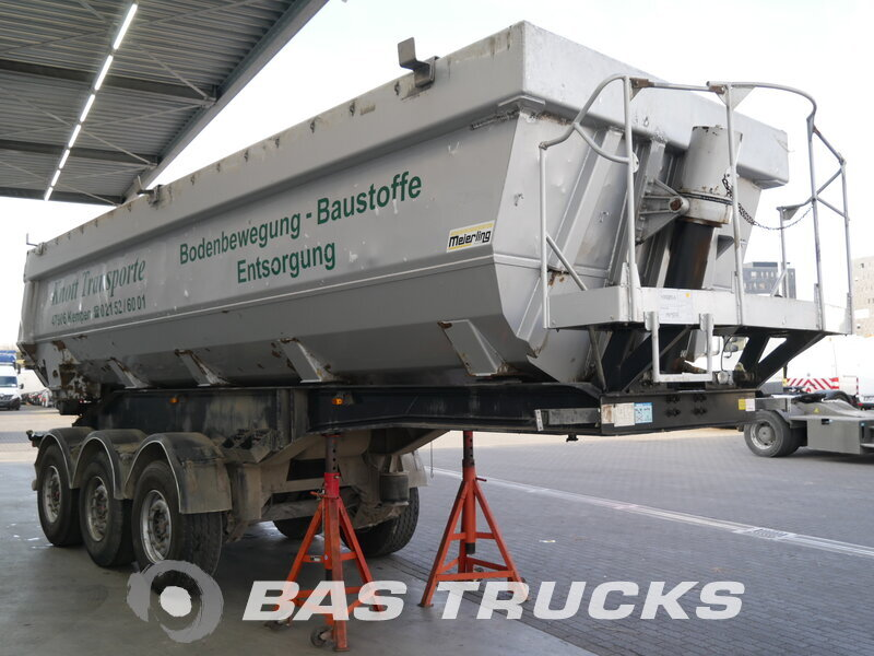 photo of Used Semi-trailer Meierling 29m3 Liftachse MSK 24 Stahl/Alu Axels 2007