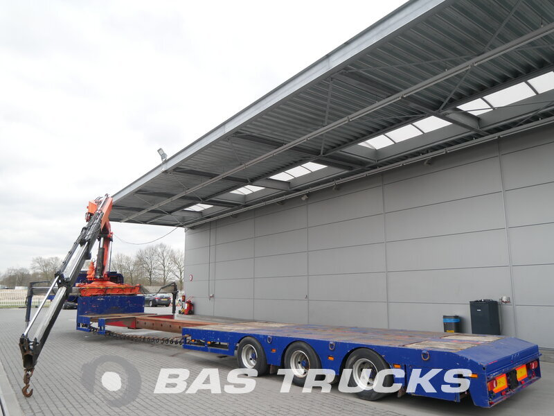 photo of Used Semi-trailer Nooteboom Ausziebar bis 17m70 OSD-44 VV Palfinger PK33000B Axels 1990